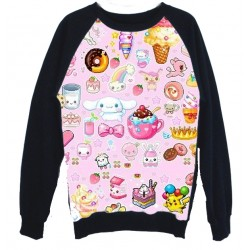 SUDADERA ESTAMPADA CANDY