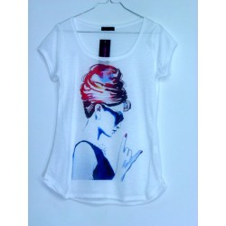 CAMISETA MEDIA MANGA AUDREY