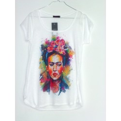 CAMISETA MEDIA MANGA FRIDA KAHLO