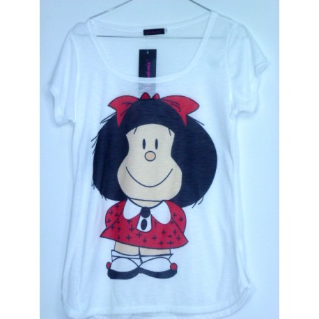 CAMISETA MEDIA MANGA MAFALDA
