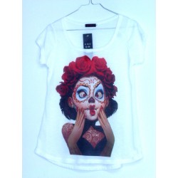 CAMISETA MEDIA MANGA MARILYN CATRINA