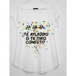 CAMISETA MEDIA MANGA JAJAJA