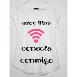 CAMISETA MEDIA MANGA WIFI