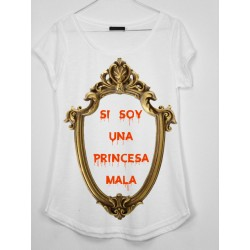 CAMISETA MEDIA MANGA PRINCESA MALA