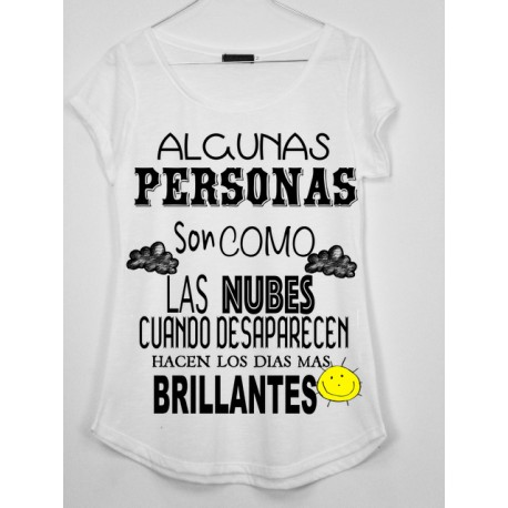 CAMISETA MEDIA MANGA ALGUNAS PRESONAS