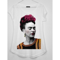 CAMISETA MEDIA MANGA FOTOGRAFIA FRIDA