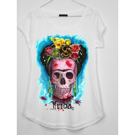CAMISETA MEDIA MANGA FRIDA