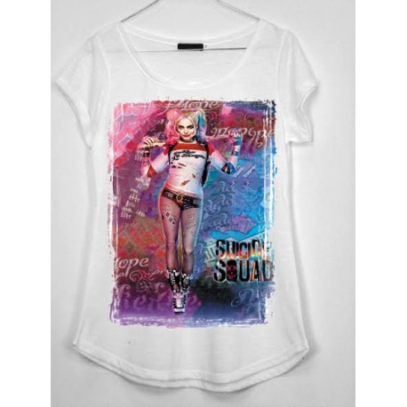 CAMISETA MEDIA MANGA HARLEY QUEEN