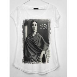 CAMISETA MEDIA MANGA FOTO FRIDA 1931