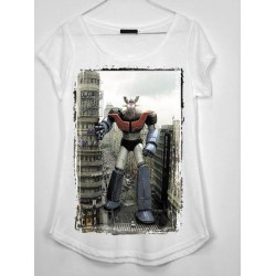 CAMISETA MEDIA MANGA MAZINGER