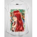 CAMISETA MEDIA MANGA SIRENA