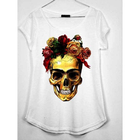 CAMISETA MEDIA MANGA VESTIDO FRIDA